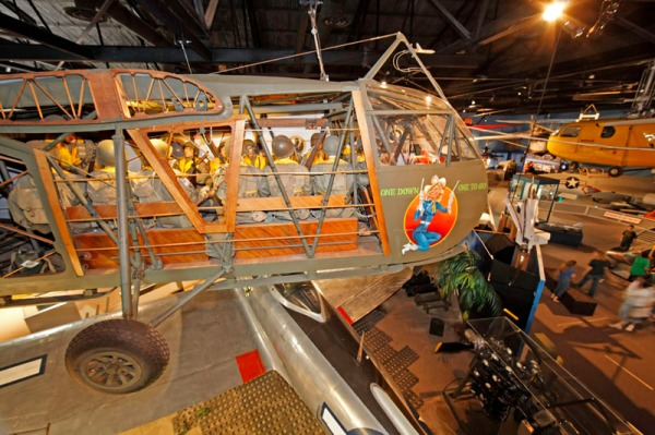 WACO CG-4 combat assault glider -- photo by Joe May