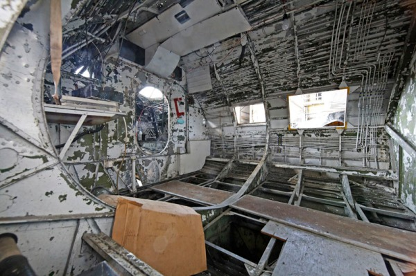 Interior of the PBY-5A from port side -- photo by Joe May