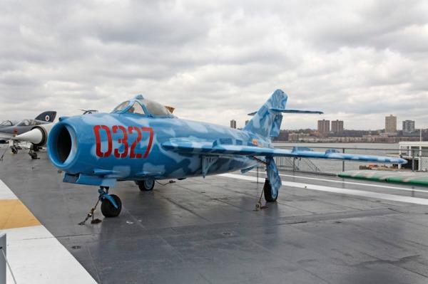 Mikoyan-Gurevich MiG-15 -- photo by Joe May