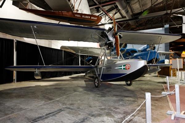 Savoia-Marchetti S.56 -- photo by Joe May