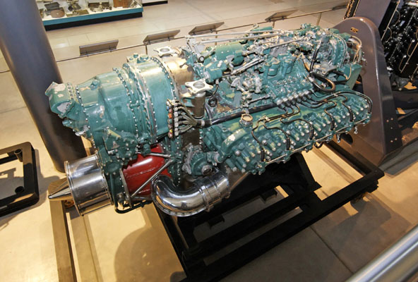 Napier Nomad II engine -- photo by Joe May