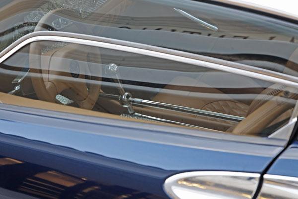 Spyker LM85 interior (á lá cockpit) -- photo by Joe May