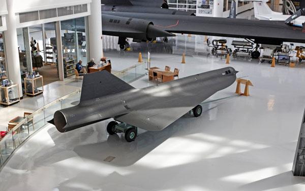 Lockheed D-21 drone — photo by Joe May