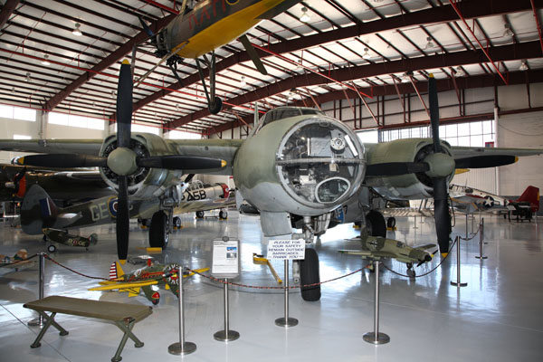 Martin B-26 Marauder -- photo by Joe May