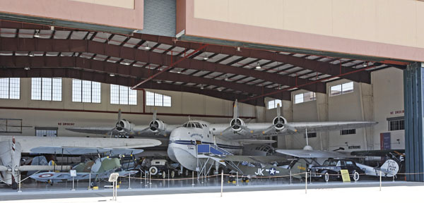 Fantasy of Flight Aircraft Collection North Hanger with Short Bros. Sunderland Mk V — photo by Joe May