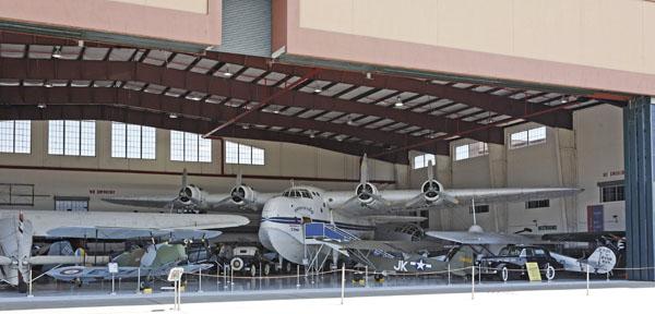 Fantasy of Flight Aircraft Collection North Hanger with Short Bros. Sunderland Mk V — photo by Joe May