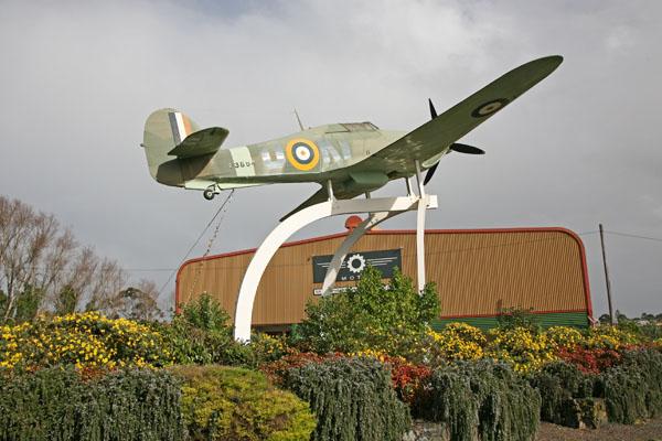 Replica Hawker Hurricane at MOTAT 2 photo by Joe May