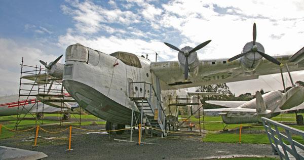 Short Bros. Sunderland (note the bow turret) — photo by Joe May