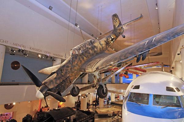 Junkers Ju-87 Stuka in tropical camouflage photo by Joe May