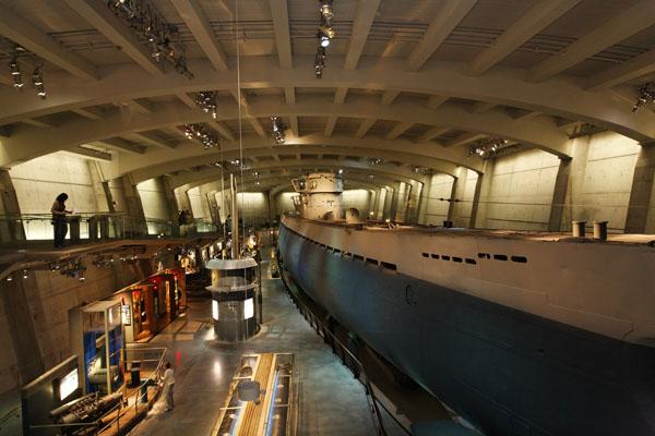 The U-505, Kriegsmarine Type IXC U-boat — photo by Joe May