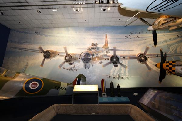Keith ferris thunderbird big art travel for aircraft for Cockpit wall mural