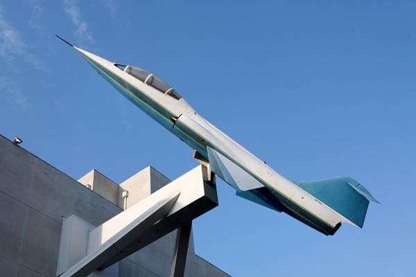 Lockheed TF-104 Starfighter — photo by Joe May
