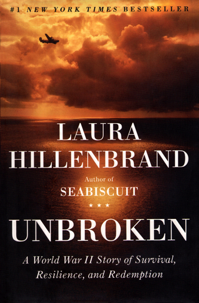Unbroken by Laura Hillenbrand jacket by
