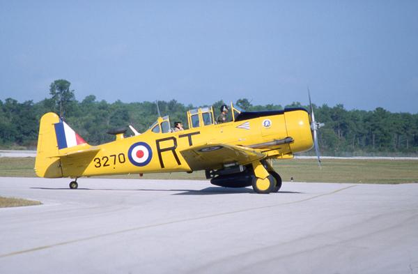 AT-6 as am RAF Harvard — photo by Joseph May