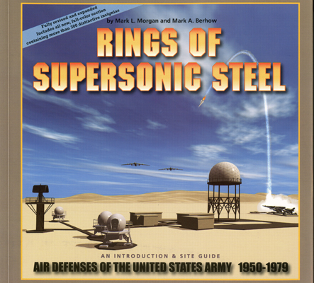 Rings of Supersonic Steel by Mark L Morgan & Mark A Berhow with cover illustration by Lawrence Ormsby