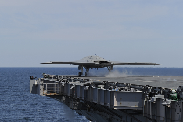X-47B USN by Northrop Grumman by Alan Radecki