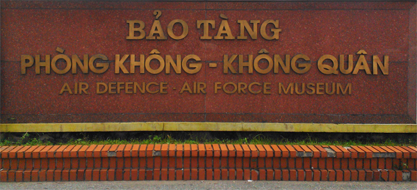 Air Defence - Air Force Museum Sign — photo by Catherine Dowman ©2013
