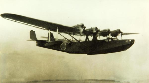 "Kawanishi ""Mavis"" — photo from the San Diego Air & Space Museum archive"