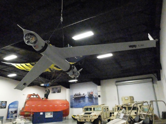 Boeing Insitu ScanEagle in the National SeAL/UDT Museum — photo by Joseph May