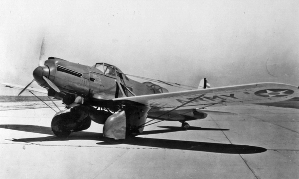 Curtiss A-8 — San Diego Air & Space Museum photo from the Charles M. Daniels Collection