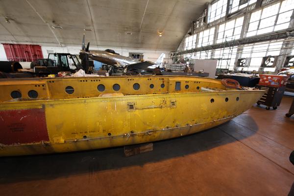 Edo A-3 lifeboat — photo by Joseph May