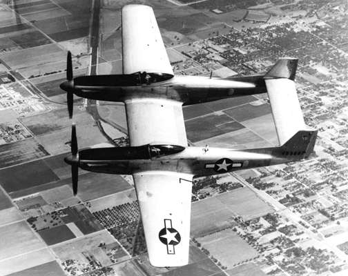 F-82 — photo provided by North American