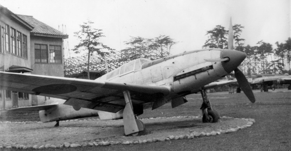 "Kawasaki Ki-61 Hein ""Tony"" — San Diego Air & Space Museum photo from the Charles M. Daniels Collection"