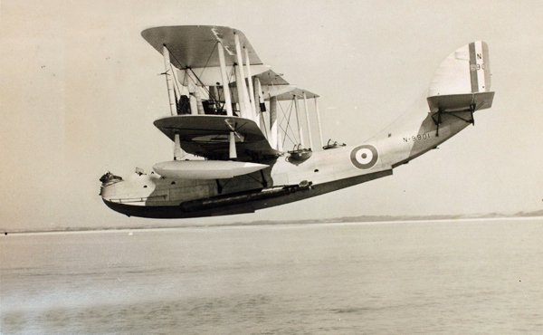Supermarine Southhapton Mk I — San Diego Air & Space Museum archive photo from the Edwin Newman Collection