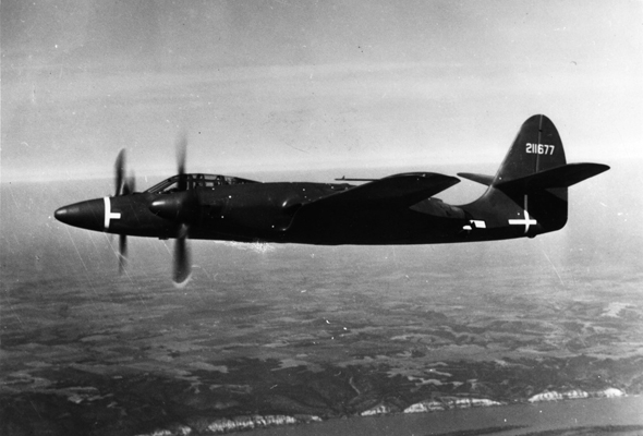 XP-67 — U.S. Air Force photo