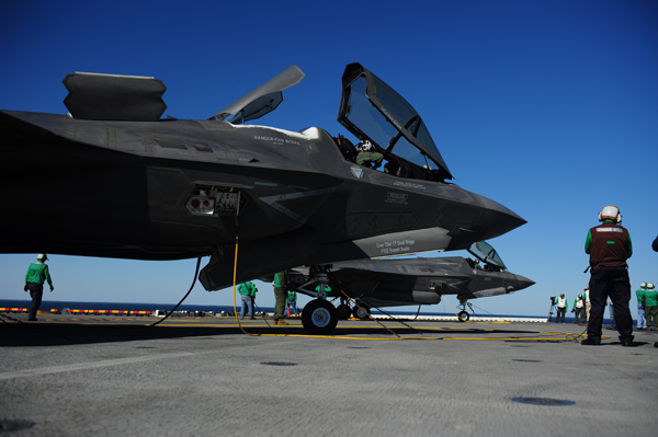F-35 Lightning II — U.S. Navy photo