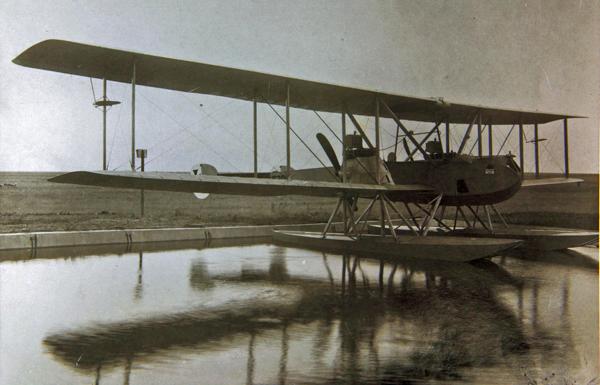 Gotha WD-11 Floatplane — San Diego Air & Space Museum archive photo