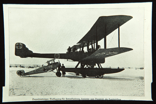 Gotha WD-14 Floatplane — San Diego Air & Space Museum archive photo