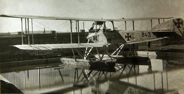 Gotha WD-15 Floatplane — San Diego Air & Space Museum archive photo