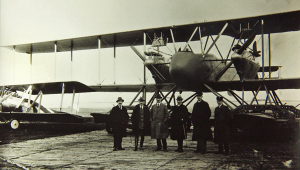 Gotha WD-27 Floatplane — San Diego Air & Space Museum archive photo