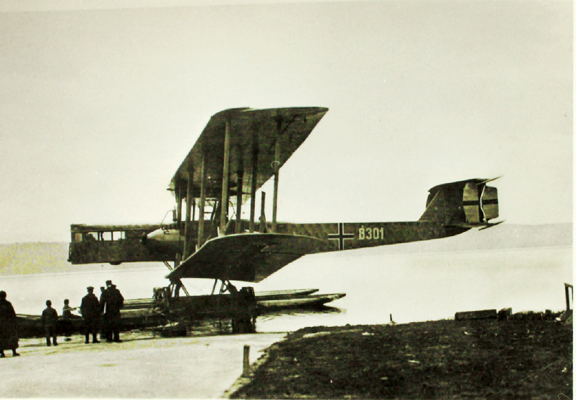 Zeppelin-Staaken 8301 Floatplane — San Diego Air & Space Museum archive photo