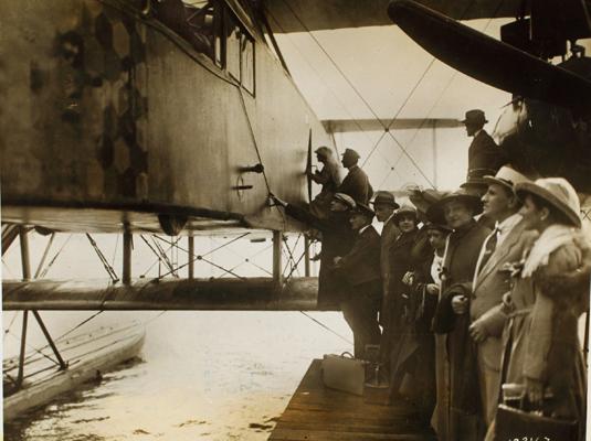 Zeppelin-Staaken 8301 Floatplane — San Diego Air & Space Museum archive photo