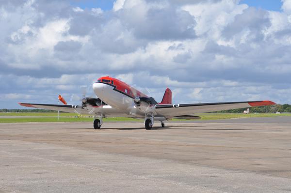 C-47 coastal survey plane National Oceanographic Office — U.S. Navy photo by Lt. Cmdr. Corey Barker