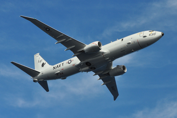 P-8A — U.S. Navy photo by Personnel Spec 1st Class Anthony Petry