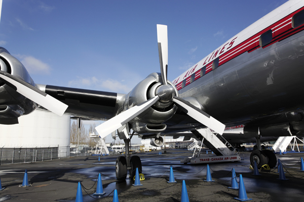 Lockheed Super Constellation — photo by Joseph May