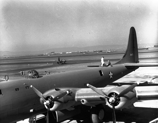 Douglas XB-19 — San Diego Air  Space Museum archive photo