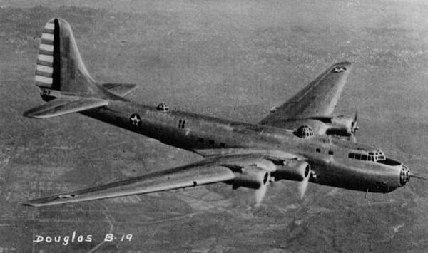 Douglas XB-19 — San Diego Air  Space Museum archive photo