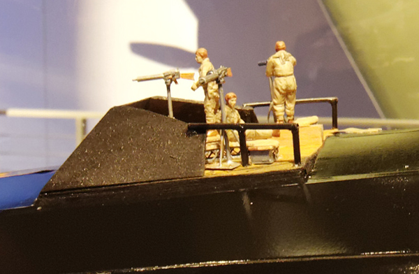 Model of the WW I German Navy Zeppelin LZ 20 — photo by Joseph May