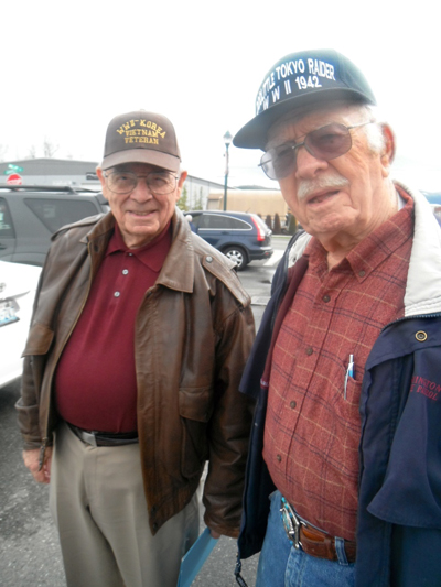 Ed Saylor and Ernie Cutler — photo provided by Gene Fioretti