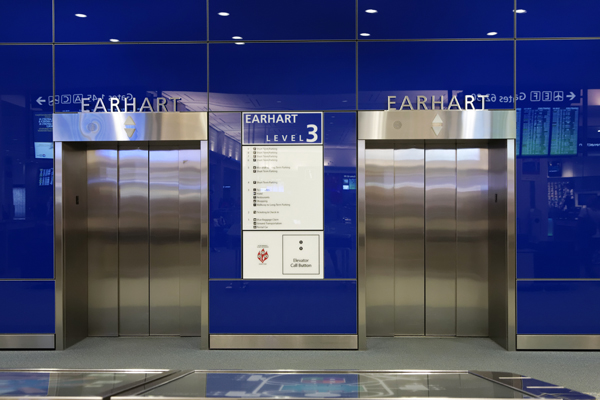 TIA Elevators — photo by Joseph May