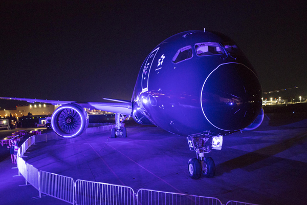 Air New Zealand's first Boeing 787-9 Dreamliner — photo courtesy of Air New Zealand