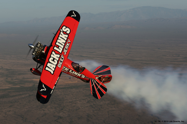 Screamin' Sasquatch being flown by Jeff Boerboon — photo by Steve Schultze