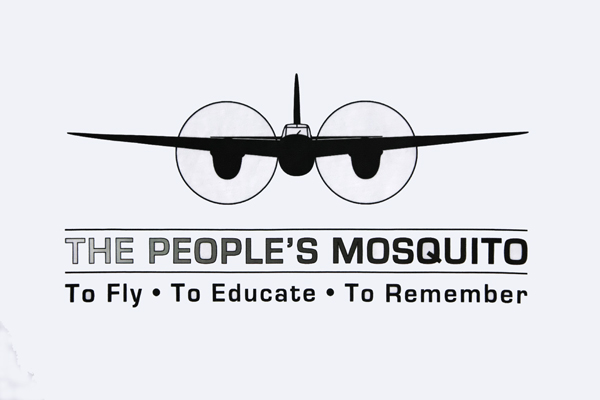 To Fly To Educate To Remember — The People's Mosquito — graphic art by Nick Horrox for The People's Mosquito