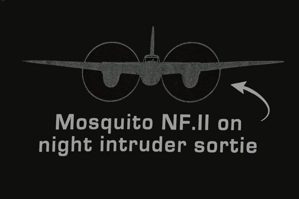 Mosquito NF.II — graphic art by Nick Horrox for The People's Mosquito