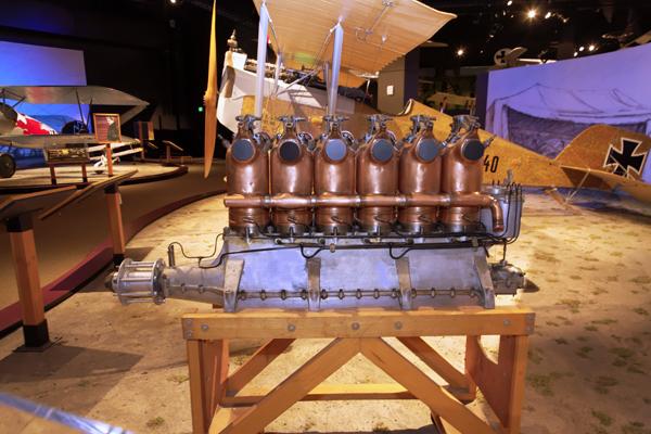 Beardmore Aero Engine Co. engine — photo by Joseph May