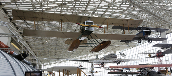 Walking around Boeing's First — the Boeing Model 1